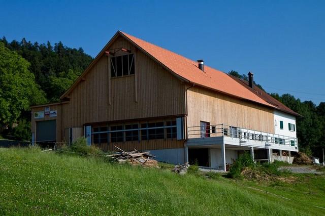 Ferienhof Kaufmann nach dem Umbau des Wirtschaftsgebäudes